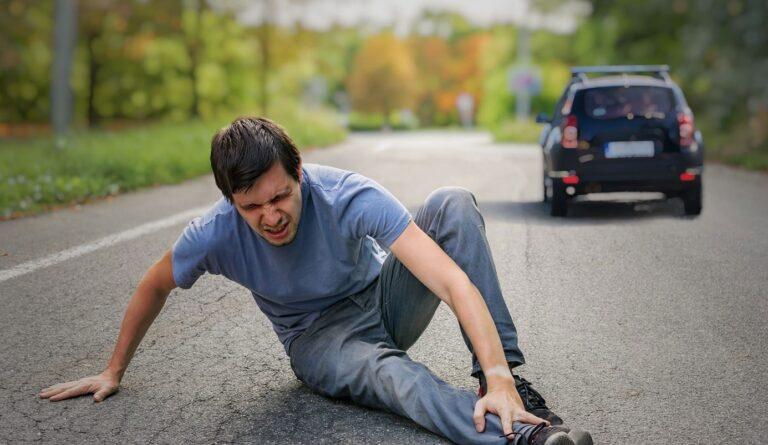 تصادف با عابر پیاده